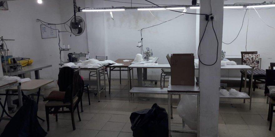 Darıca'da 5 bin maske ele geçirildi