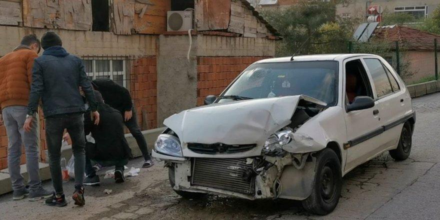 Gebze'de kaza: 2 yaralı
