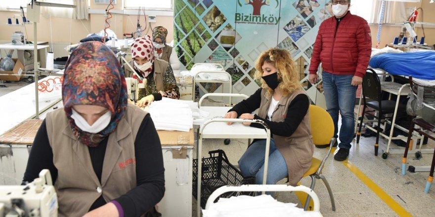 KSO, Bizimköy Engelliler Üretim Merkezi, Sağlık çalışanlarına maske üretimi başlattı