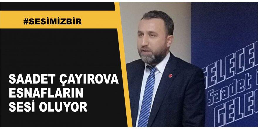 Çayırova'da esnafın sesi oluyorlar