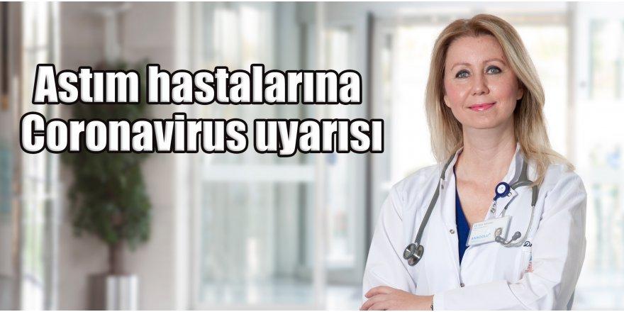 Astım hastalarına Coronavirus uyarısı