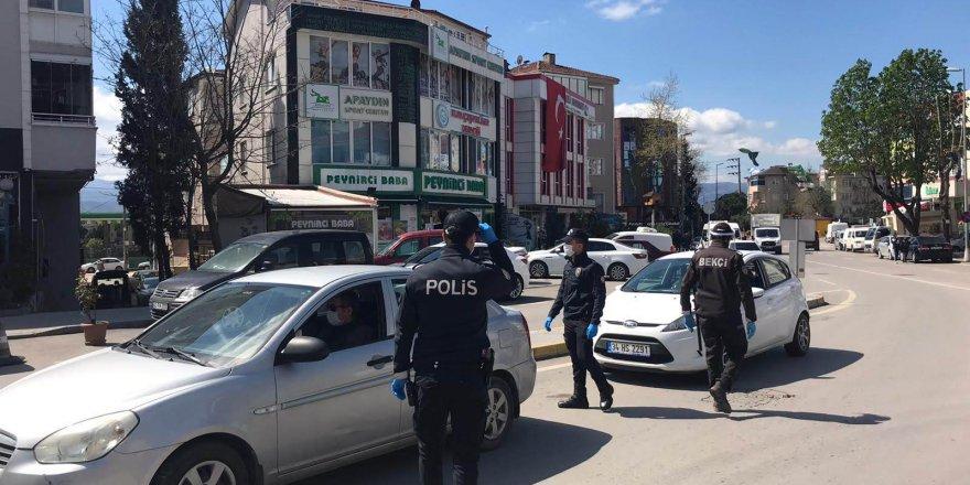 158 kişiye idari para cezası uygulandı