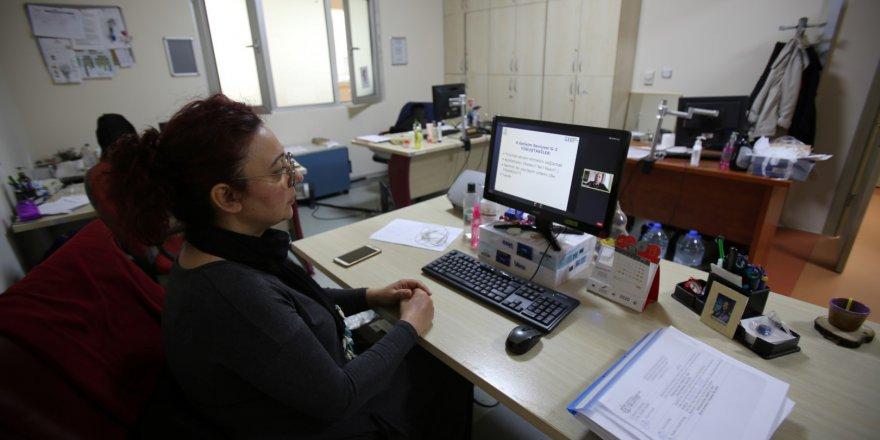 Büyükşehirde eğitimler online devam ediyor