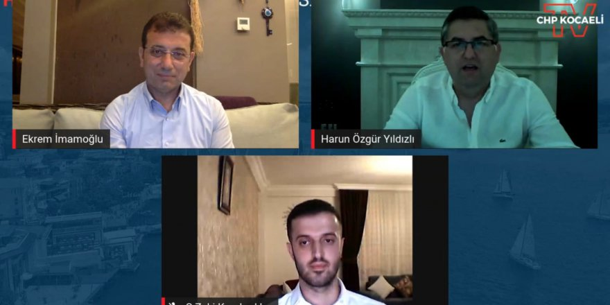 İmamoğlu, CHP Kocaeli'nin konuğu oldu