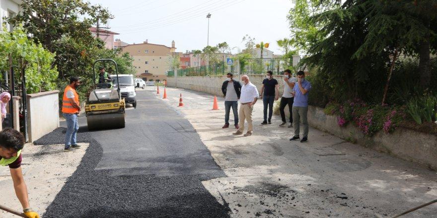Darıca'da asfalt yama seferberliği