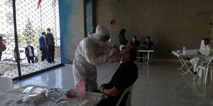 Darıca'da market çalışanlarına  'Covid-19'testi