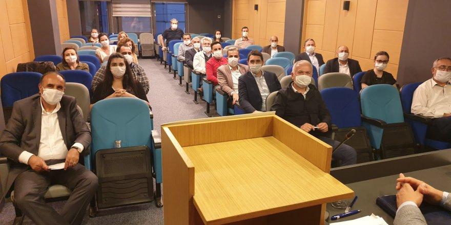 CHP İl Örgütü'nde görev dağılımı yapıldı