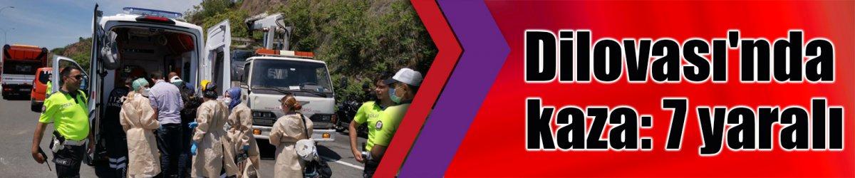 Dilovası'nda kaza: 7 yaralı
