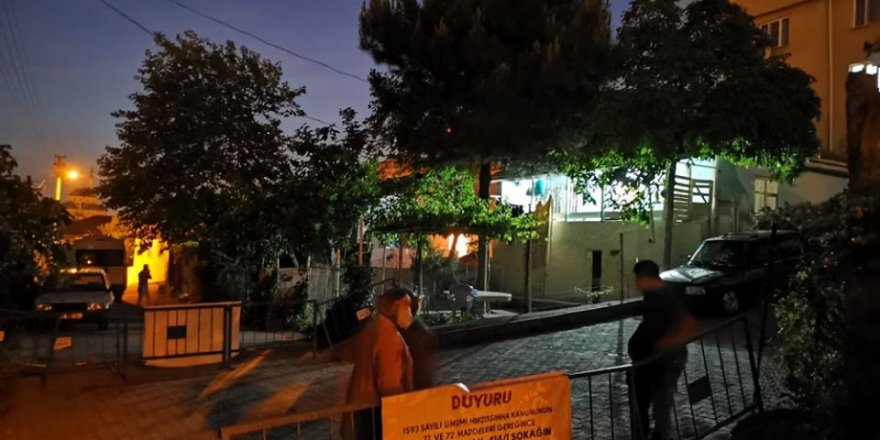Gebze'de mahalle giriş çıkışa kapatıldı!