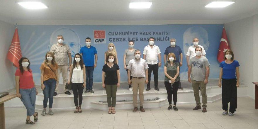 CHP Gebze ilçe yönetimi toplandı