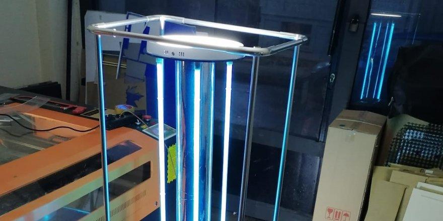 İzmit Belediyesi UV Dezenfeksiyon Robotu üretti