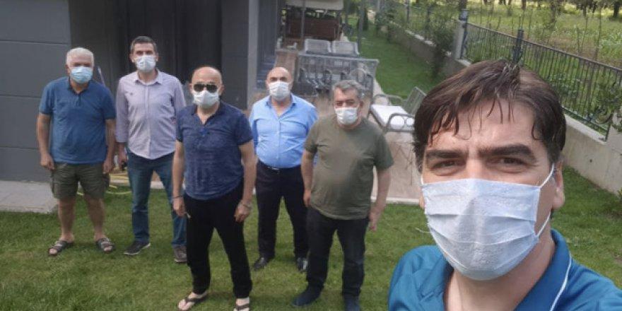 Sarman'dan Üzülmez'e ziyaret