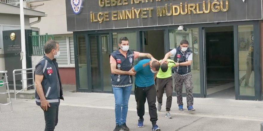 Kombi hırsızlığı şüphelileri tutuklandı