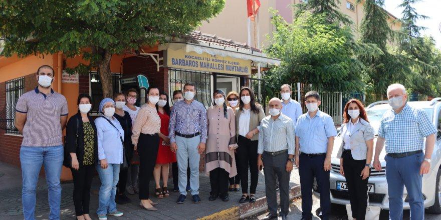 CHP Kocaeli Körfez'e çıkarma yaptı