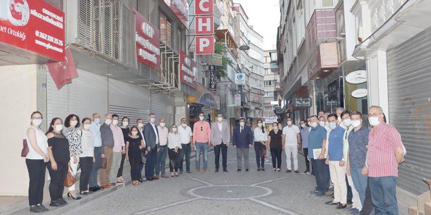 CHP Kocaeli, Çayırova İlçe Örgütü'nü ağırladı