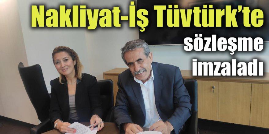 Nakliyat-İş Tüvtürk'te sözleşme imzaladı