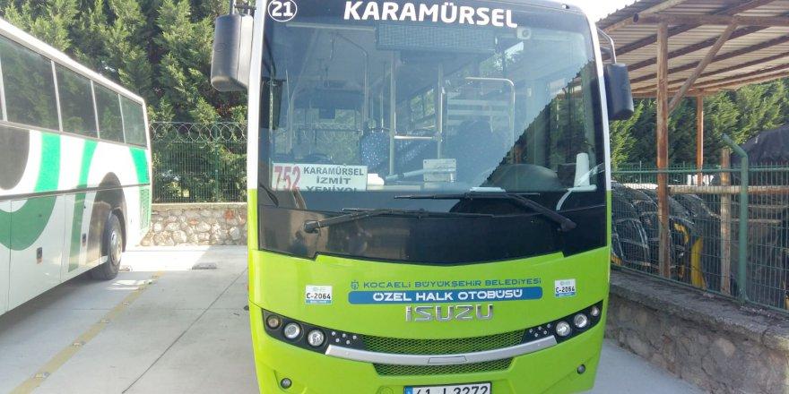 Toplu taşıma esnafı 5.6 milyon TL