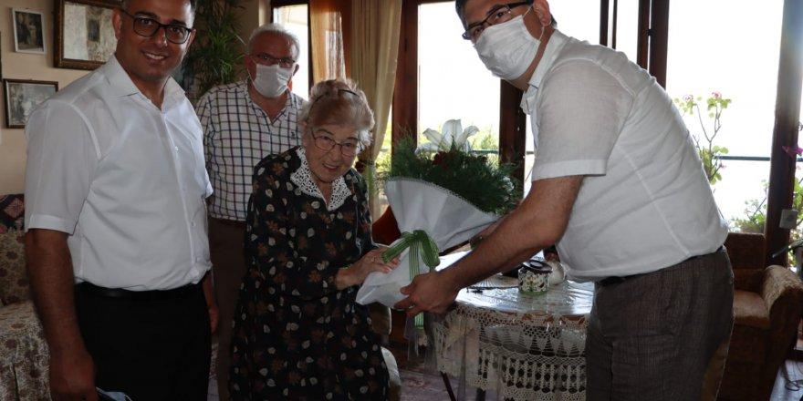 CHP'li başkanlardan Armaner'e  ziyaret