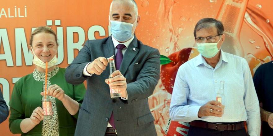 """""""Karamürsel Gazozu 49 yıl sonra üretilmeye başlandı"""