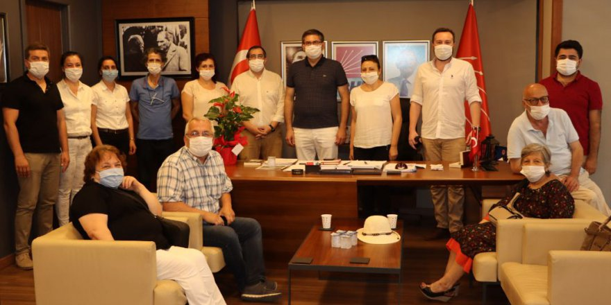 CHP Kocaeli, ADD'yi ağırladı