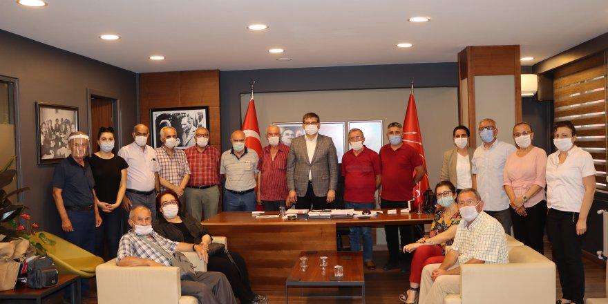 CHP adına ÇYDD'ye anlamlı bağış