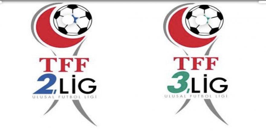 TFF'den 2. Lig ve 3. Lig için kararını açıkladı