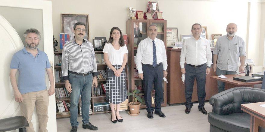 DEVA Partisinden gazetemize ziyaret