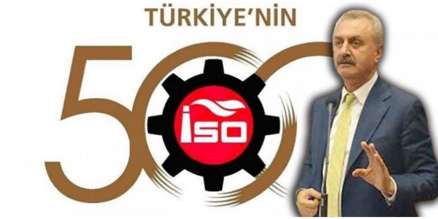 ISO 500'de 59 Firma Gebze'den