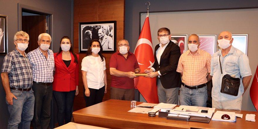 Derneği'nden CHP'ye ziyaret