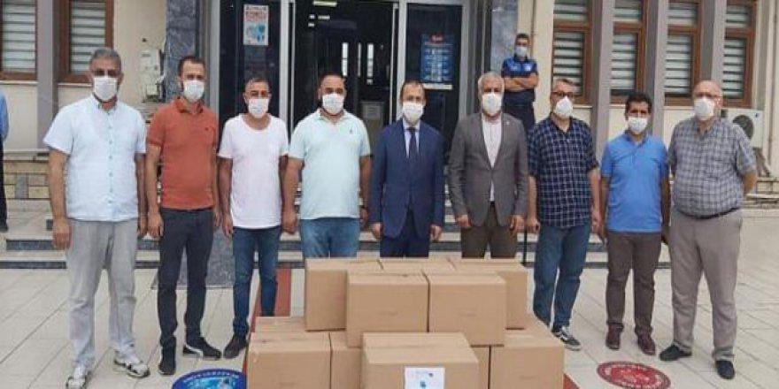 41 bin maske dağıtıldı