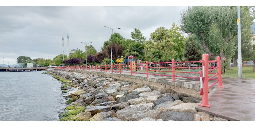 Sahil Parkı yenileniyor