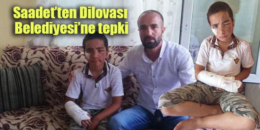 Saadet'ten Dilovası Belediyesi'ne tepki