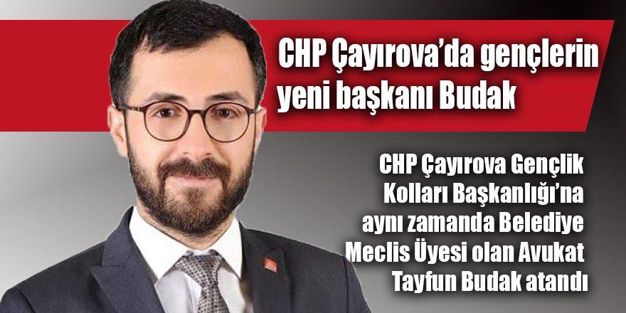 CHP Çayırova'da gençlerin yeni başkanı Budak