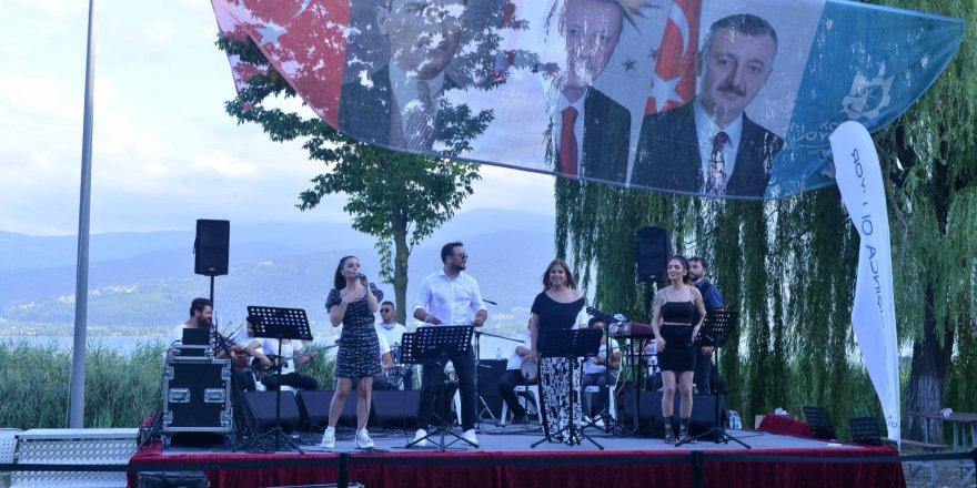 Açık hava konseri bugün Çayırova'da