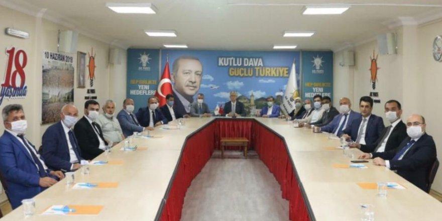 AK Parti Kocaeli, video konferansla bayramlaştı