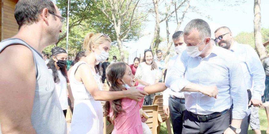 Kamplardan 2 bin 200 sağlık çalışanı faydalandı