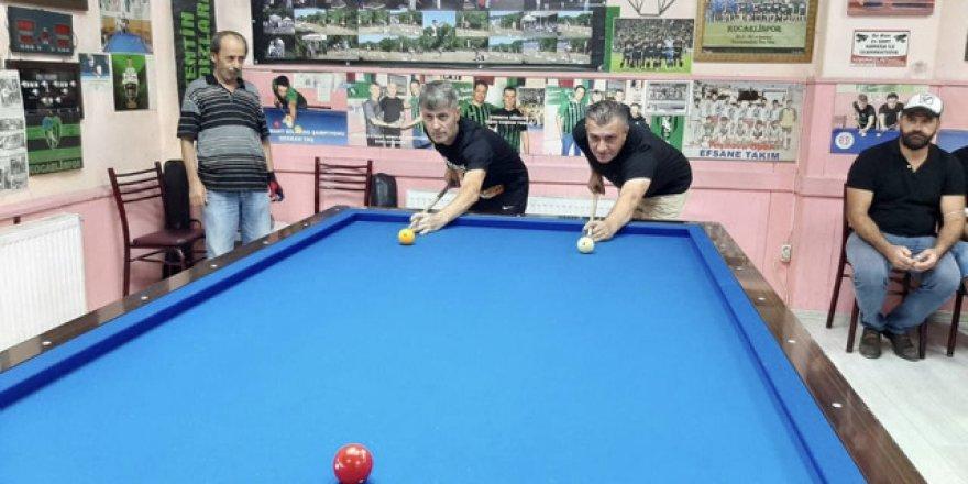 YMK bilardo turnuvası başlıyor