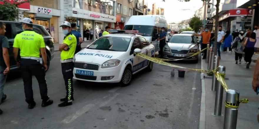 Yeniçarşı'da silahlı çatışma: 2 yaralı