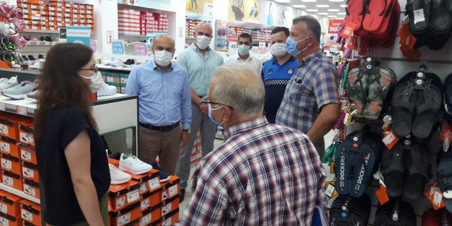 Büyükşehir'den Koronavirüs denetimi