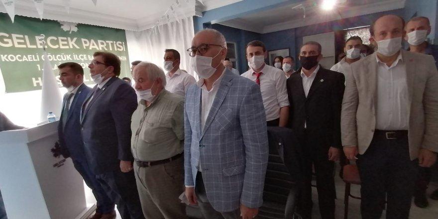 Gelecek Partisi Gölcük'de Güner seçilmiş başkan