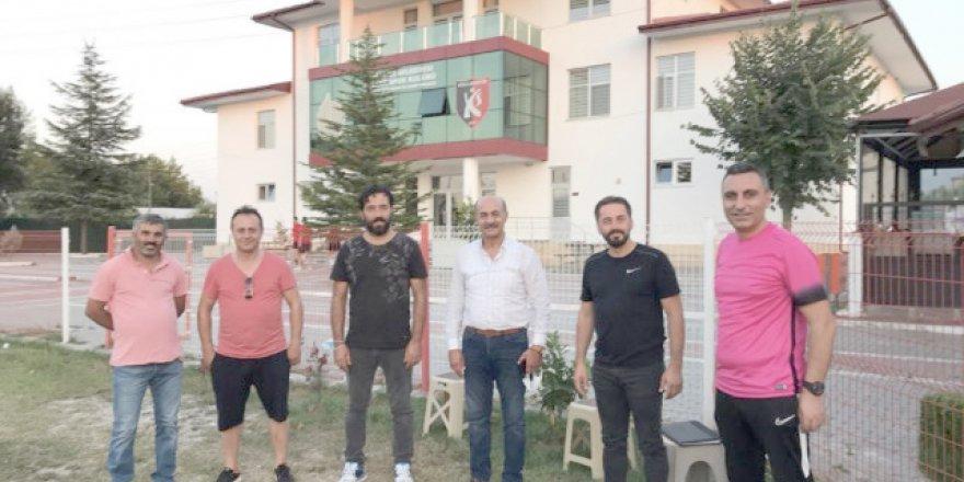 Ramiz Soydaş, Kullarspor Kulübü'nü ziyaret etti