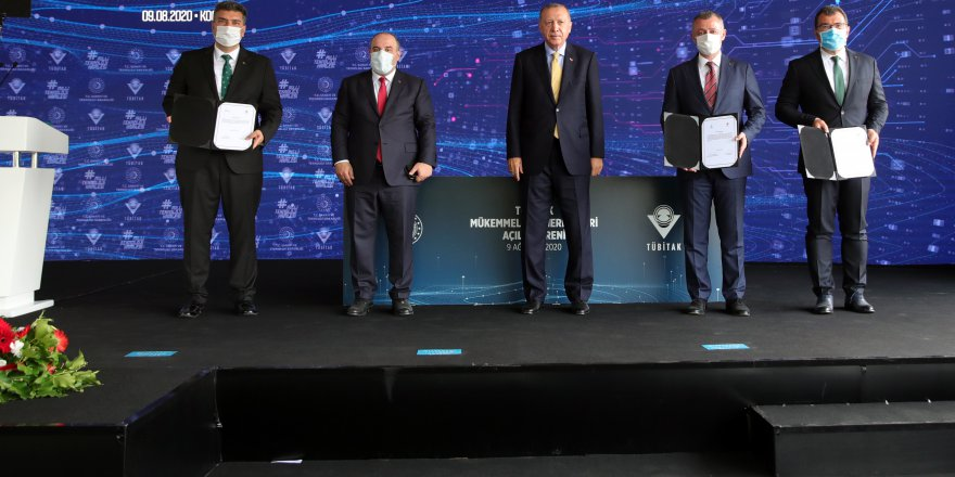 Cumhurbaşkanı Erdoğan Gebze'de açılış yaptı