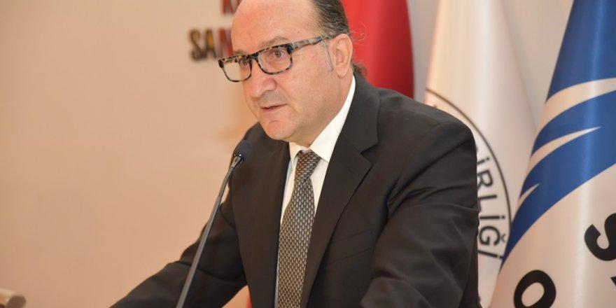 """KSO BAŞKANI ZEYTİNOĞLU: """"İstihdam edilenlerin sayısı azaldı"""""""