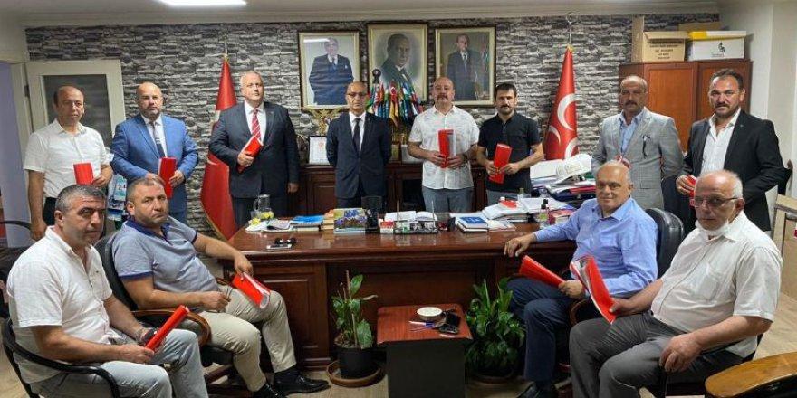 MHP başkanlarla devam edecek