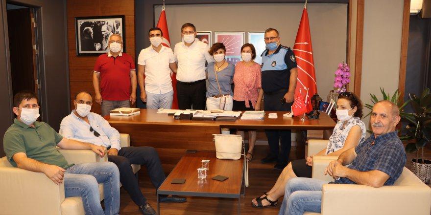 CHP Kocaeli, Tüm Bel Sen'i ağırladı