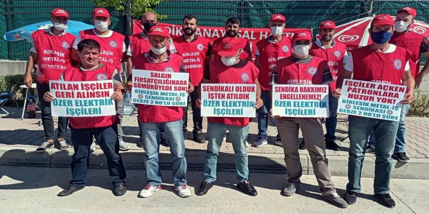 Özer Elektrik'te Anayasal Suç İşleniyor!