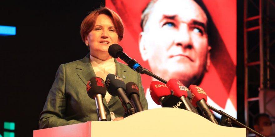 Akşener, Kılıçdaroğlu'nu tebrik etti