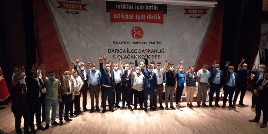 MHP Darıca'da Aygün'le devam