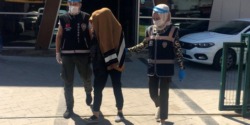 Kılık değiştiren hırsızlık şüphelisi tutuklandı