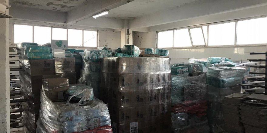 2milyon liralık temizlik malzemesi çaldılar